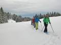 Schneeschuhtour über den hauchenberg