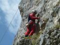 Klettern am Hausener Felsenkranz