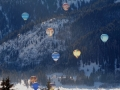 Der Himmel voller Ballone