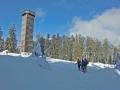 Gipfelturm des Schwarzen Grates