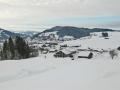 Blick in Richtung Oberstaufen